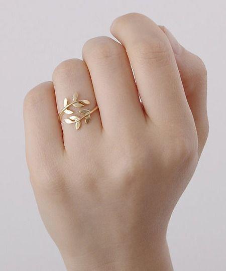 anular moda con anillos