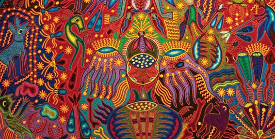 arte huichol peyote