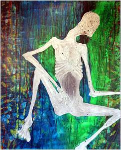 arte kurt Cobain autorretrato