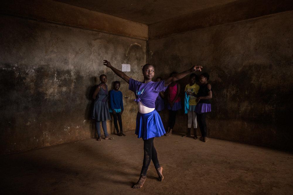 ballet en kibera pam