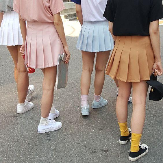 industria de la moda faldas