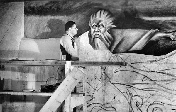 Artistas mexicanos posrevolucionarios  clemente-orozco