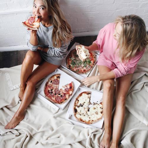 como bajar de peso piza