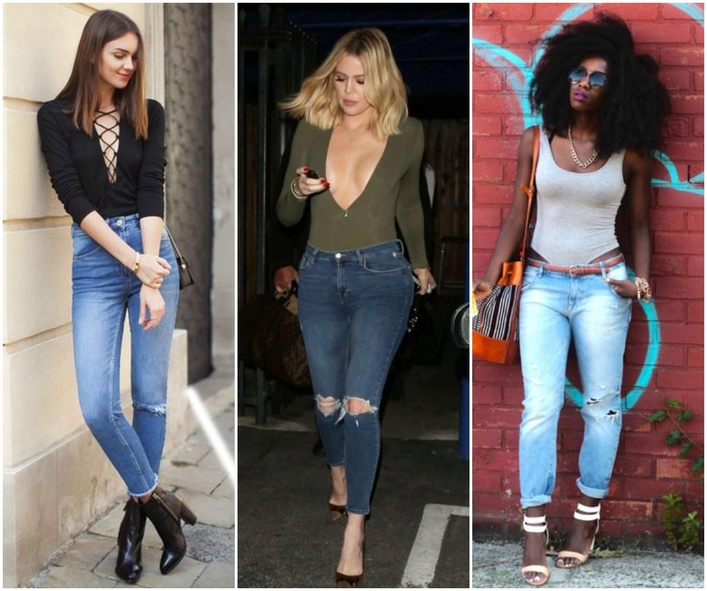 como usar body con jeans