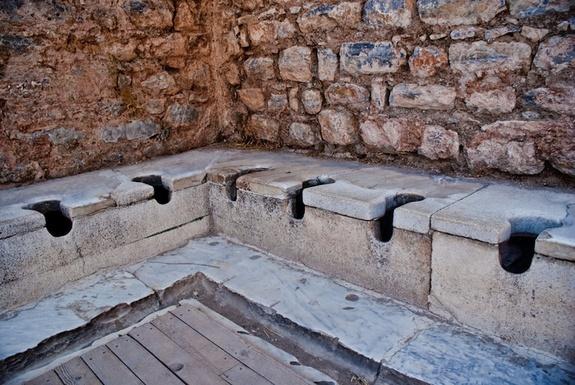 costumbres romanas banos