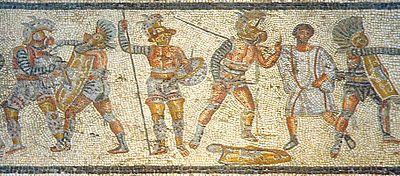 costumbres romanas gladiadores