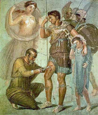 costumbres romanas medicina