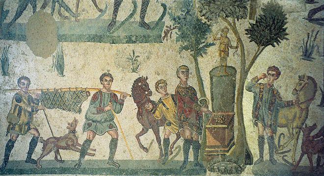 costumbres romanas vomitorium