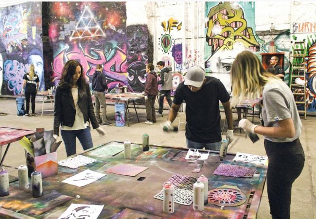 crea obras de arte en berlin