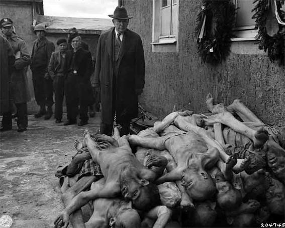 cuerpos judios holocausto