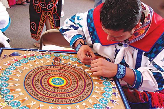 cultura huichol sol