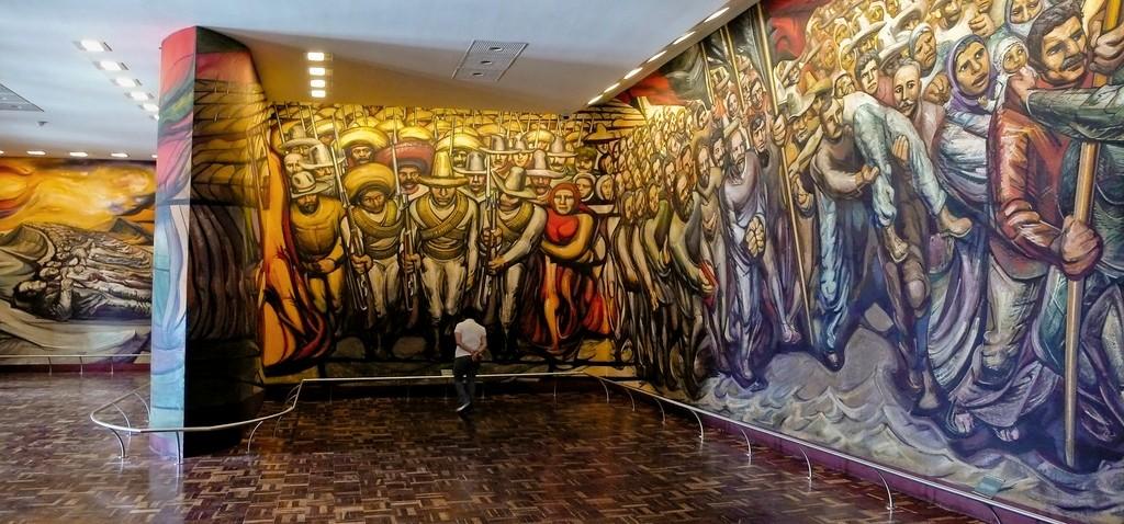 Artistas mexicanos posrevolucionarios  del-porfirismo-a-la-revolucion