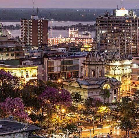 destinos baratos paraguay night