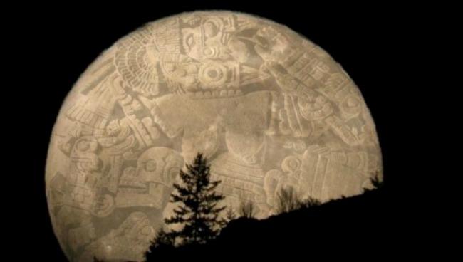 diosa de la luna piedra