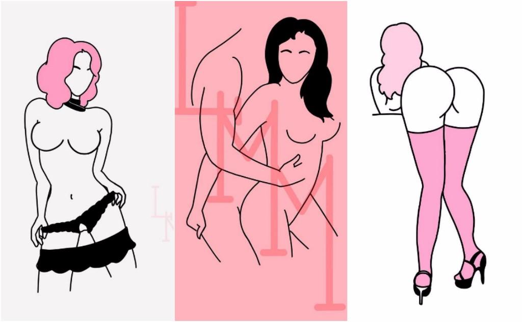 disenos eroticos nalgas