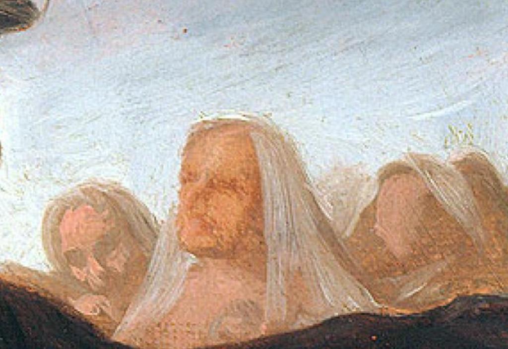 el aquelarre de goya anciana