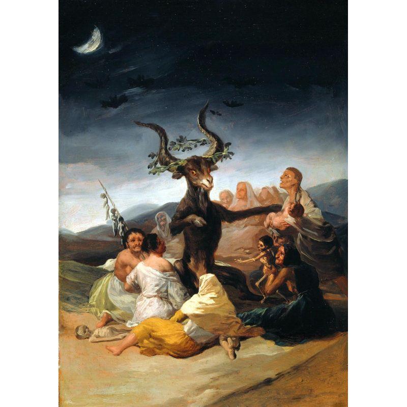 el aquelarre de goya brujas