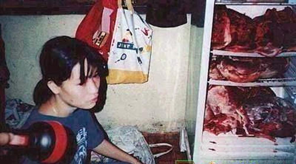 el asesinato de hello kitty refrigerador