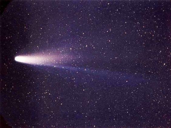 el cometa halley paso