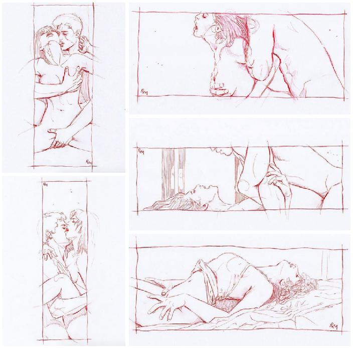 erotic and romantic illustrations sex
