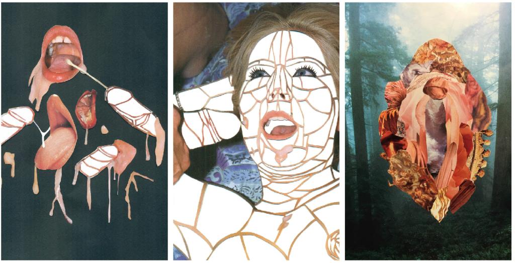 erotic collage pipa vacker
