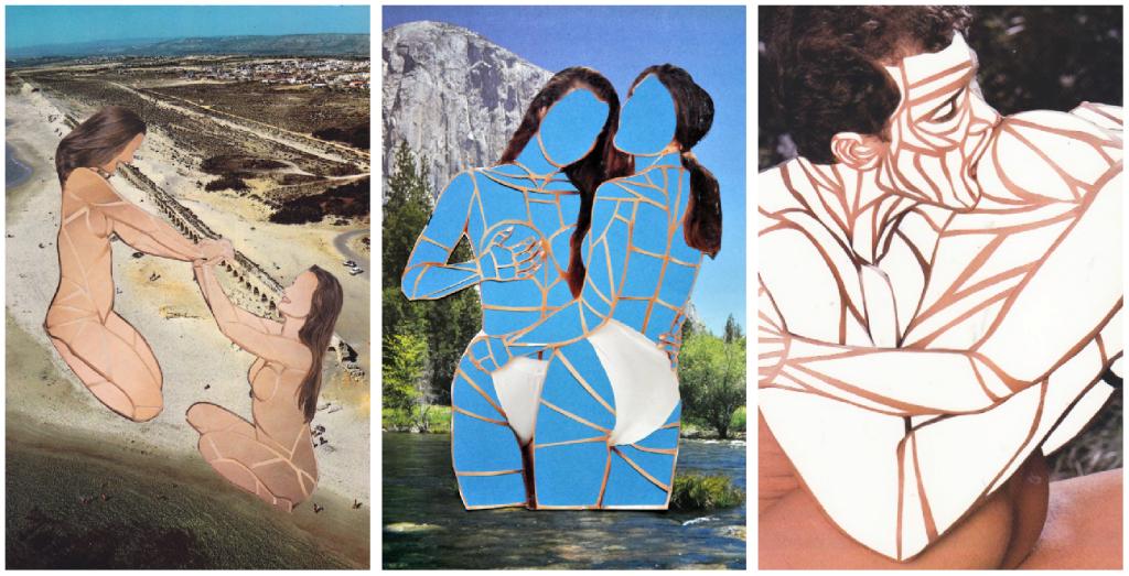 erotic collage sensuality