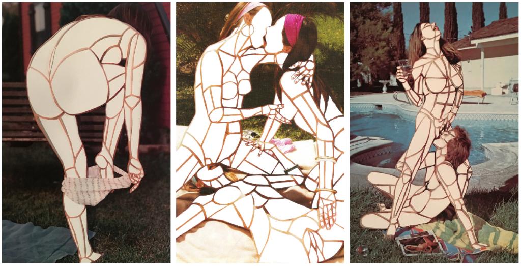 erotic collage zoe