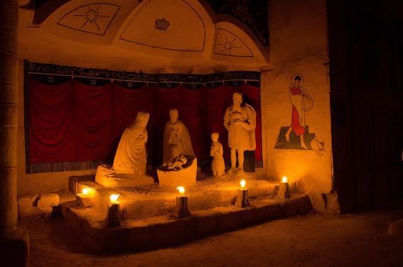 escenas religiosas cuevas religiosas