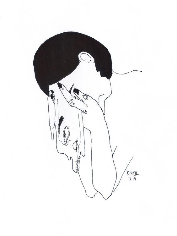 etapas del duelo amoroso rostro