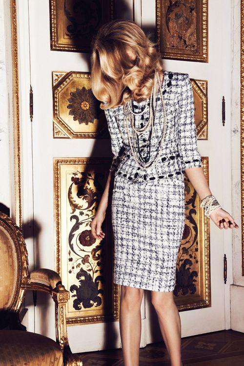experta en moda tweed