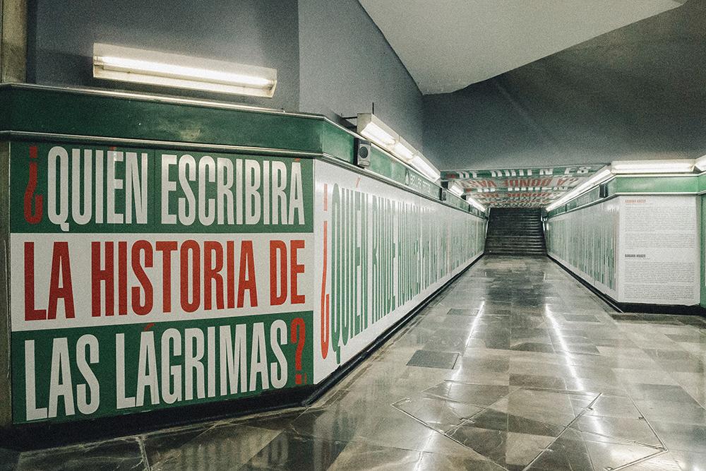 exposicion en el metro cdmx