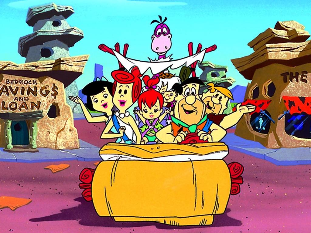 familia en los dibujos animados