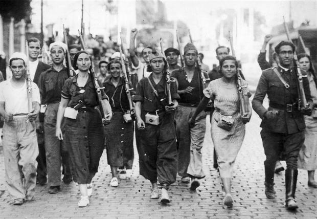 george orwell en la guerra civil espanola