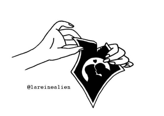 illustrations tattoos sick of love