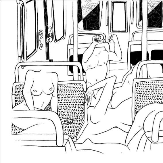 ilustraciones de fantasias autobus