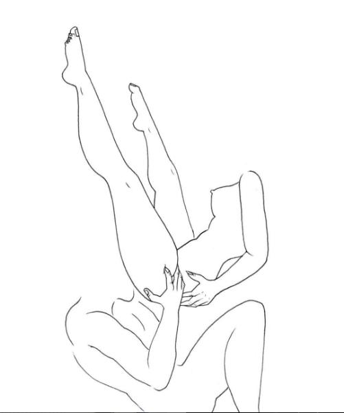 ilustraciones de fantasias cunnulingus