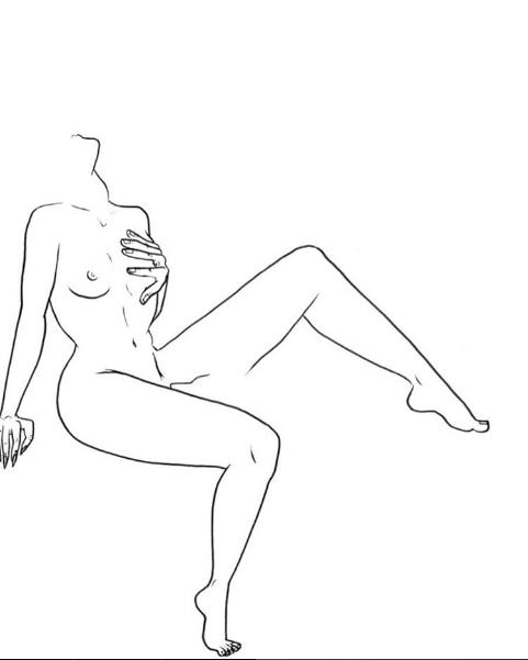 ilustraciones de fantasias mujer mano