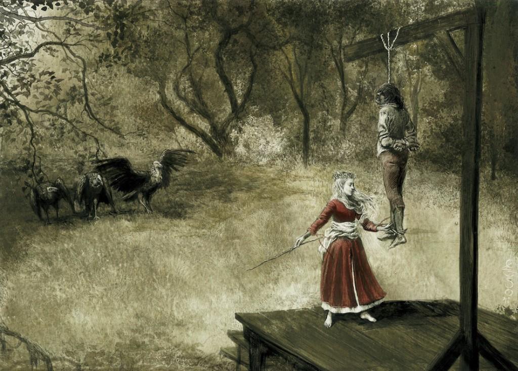 ilustraciones goticas bierce