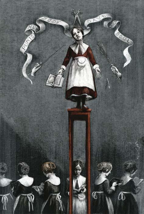ilustraciones goticas eyre