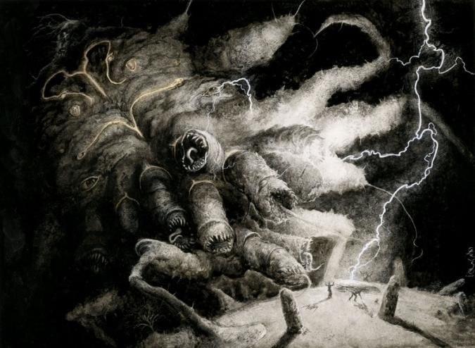 ilustraciones goticas lovecraft