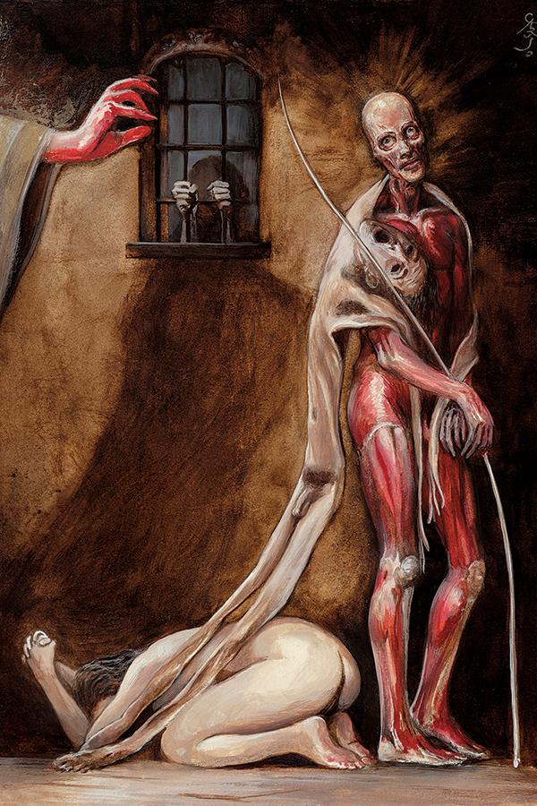 ilustraciones goticas maldoror