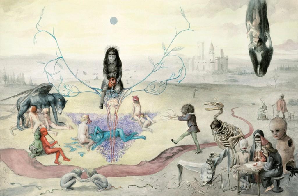 ilustraciones goticas muertes
