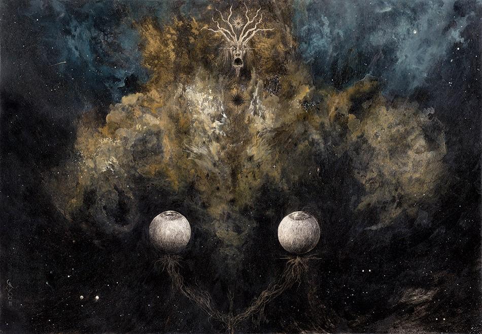 ilustraciones goticas rey