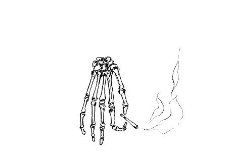 ilustraciones para tatuajes cigarro