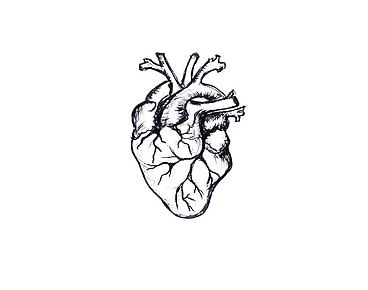 ilustraciones para tatuajes corazon