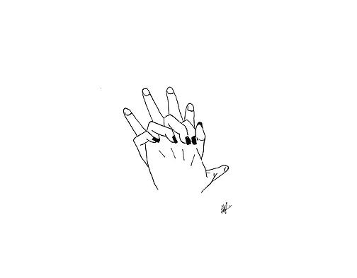 ilustraciones para tatuajes manos