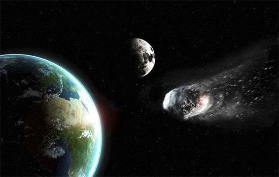 impacto de asteroide asteroide