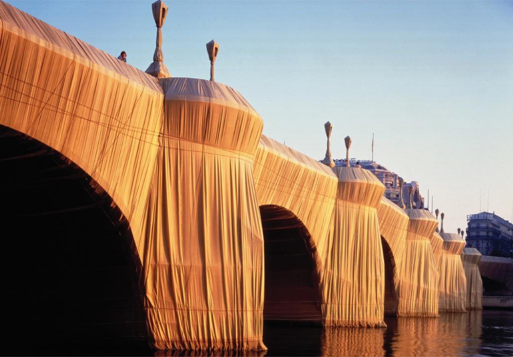instalaciones de Christo y Jeanne-Claude
