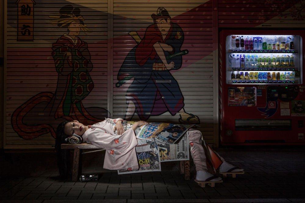 japan fetishes bench