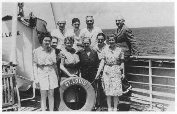 judios san luis familia de ana frank